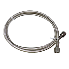 "BSP 1/4"" Stainless Steel Braided Hose"