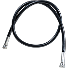 Braided Black PVC Coated Non Kink Hoses