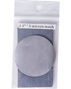 Stainless Steel Mesh Filter - 5 Micron