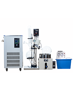 Rotary Evaporator 5L Manual Kit with 5L Chiller -40