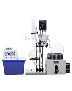 Rotary Evaporator 5L Manual Kit with 15L Recirculating Water Pump