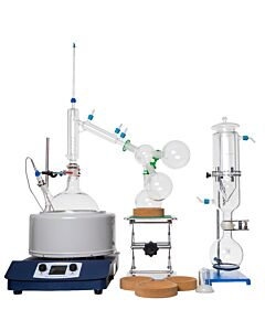 Short Path Distillation Kit With Digital Heating Mantle
