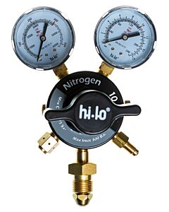 Hi-Lo FabMaster Two Stage Elite Reg 2 Gauge Nitrogen 10 Bar